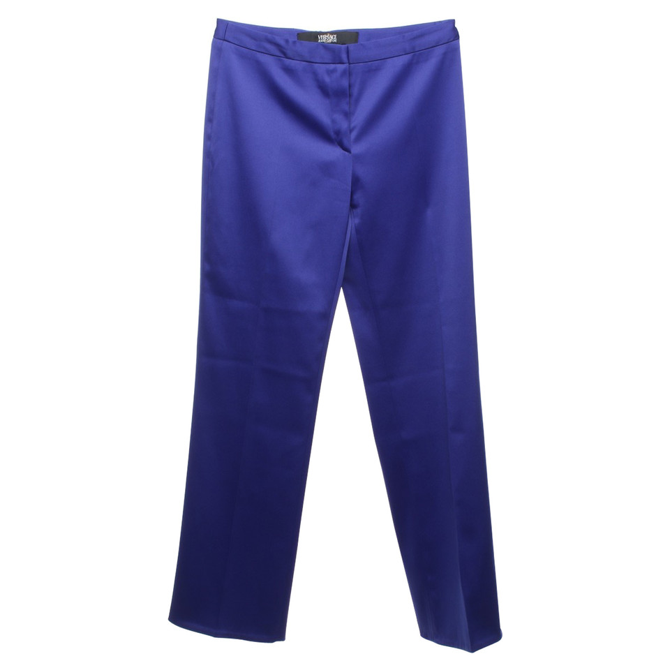 Versace Pantaloni in Royal Blue