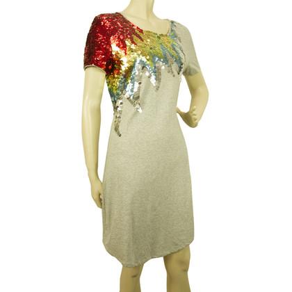 Alexander McQueen Mini jurk met pailletten