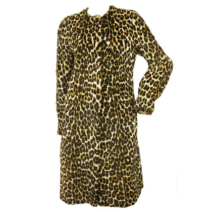 Valentino Coat with leopard print