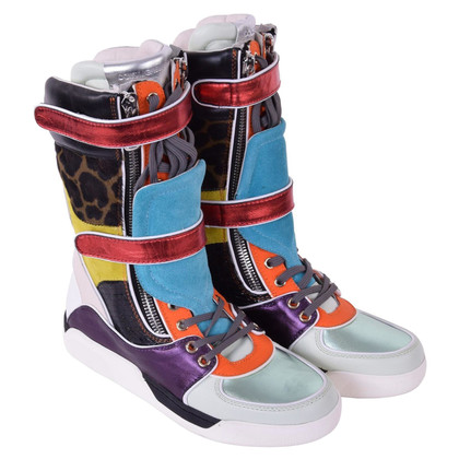 Dolce & Gabbana Stiefel im Sneakers-Look
