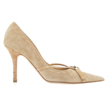 Christian Dior pumps suede