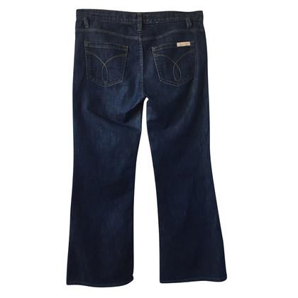 "Calvin Klein Jeans blu scuro ""Wide Leg Mid Rise"""