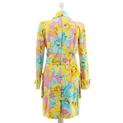 Versace Coat with floral print