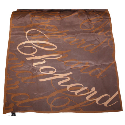 Chopard silk scarf in Brown