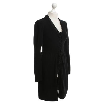 Laurèl Long cardigan in black