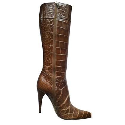 Prada Stiefel aus Alligatorenleder