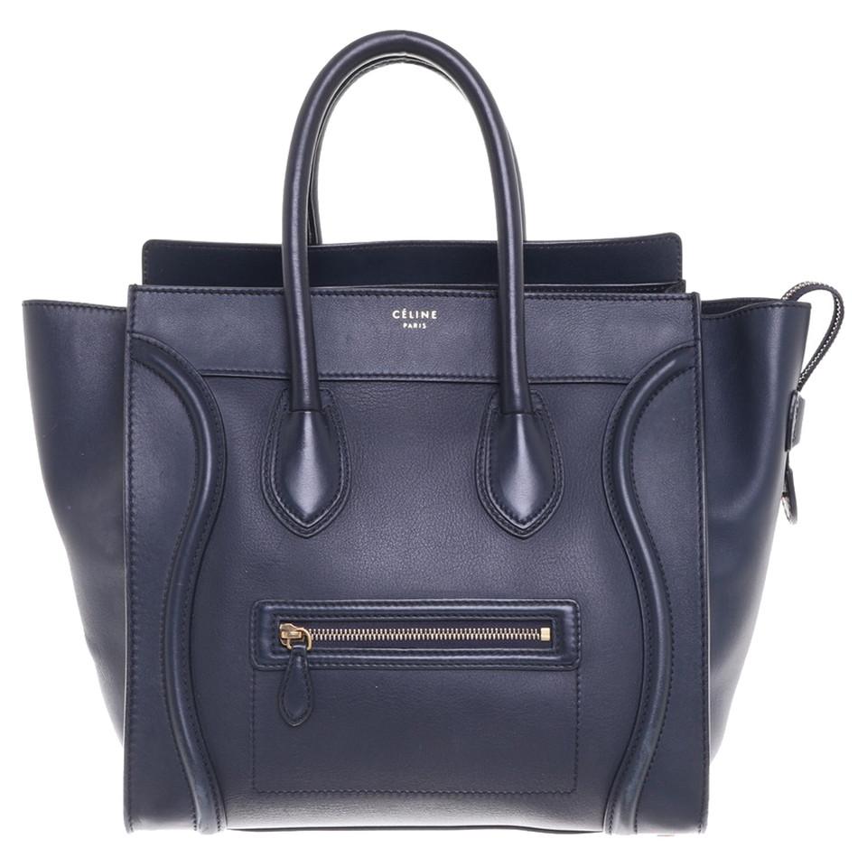 Céline Mini Luggage Bag In