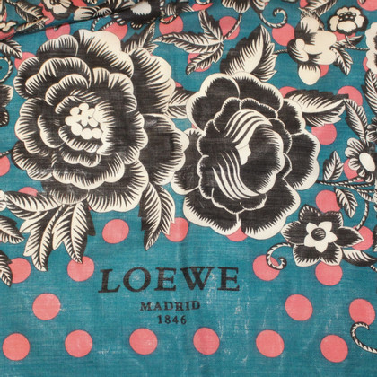 Loewe Sjaal in Turquoise