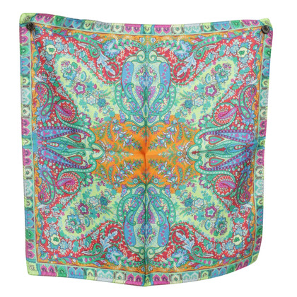 Etro Silk scarf with print