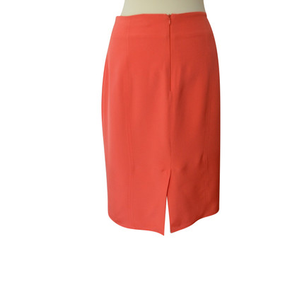 Blumarine Silk skirt in coral