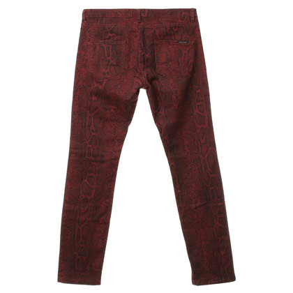 Maison Scotch Jeans with patterns