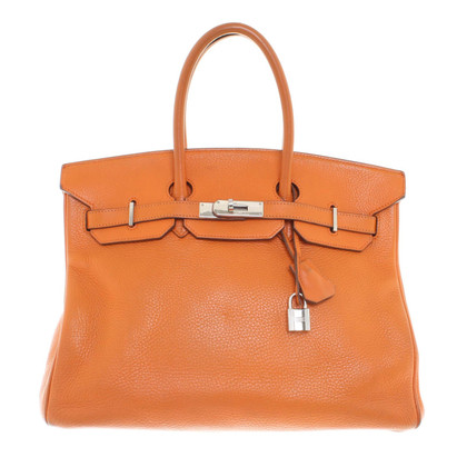 "Hermès ""Birkin Bag 35"" in Orange"