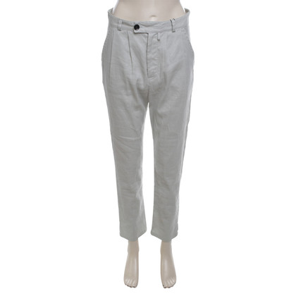 Bruuns Bazaar Linen trousers in gray