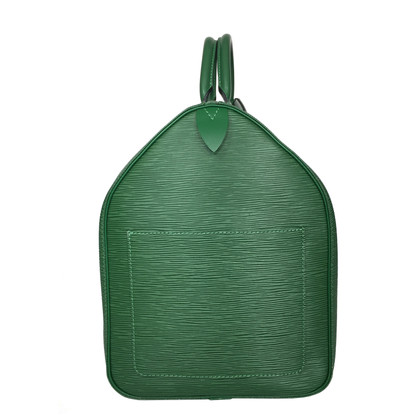 "Louis Vuitton ""Keepall 50 Epi leather"" in green"