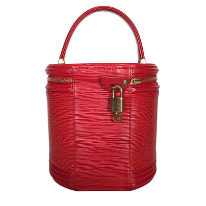 """Louis Vuitton """"Cannes Epi leather"""" in Red"""