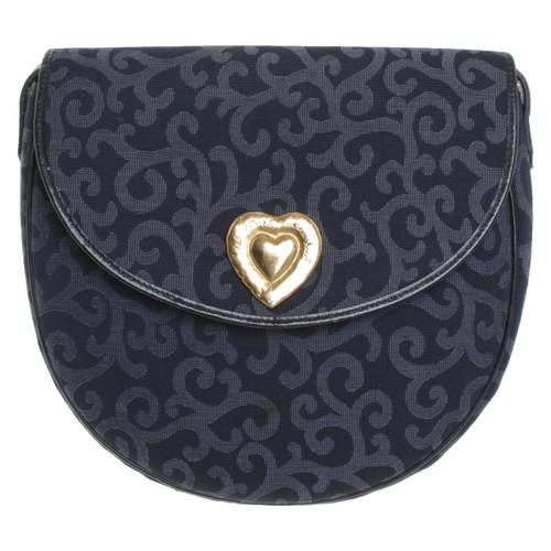 1659dd7edaa Yves Saint Laurent Shoulder bag in blue - Second Hand Yves Saint ...
