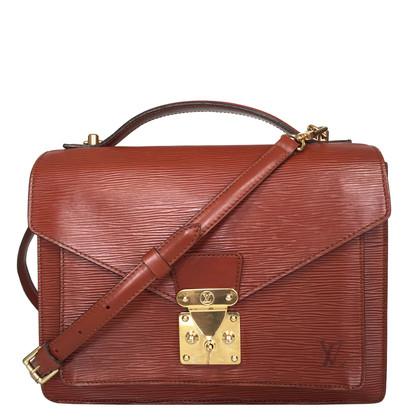 """Louis Vuitton """"Monceau Epi Leder"""" in Braun"""
