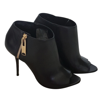 Burberry Peeptoe-Ankle Boots
