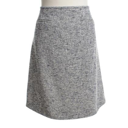 Hugo Boss Tweed-skirt in Tricolor