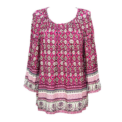 Cynthia Rowley top with pattern