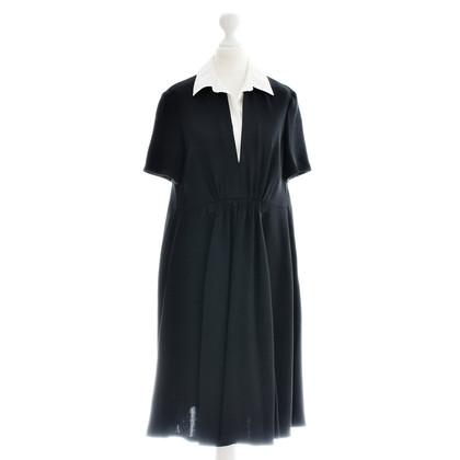 Rena Lange Kleid mit weißem Kragen