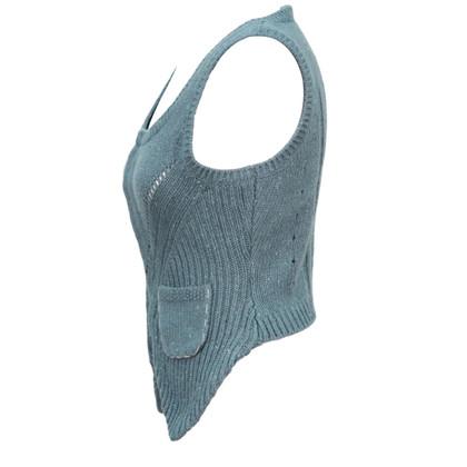 Noa Noa Vest in Turquoise