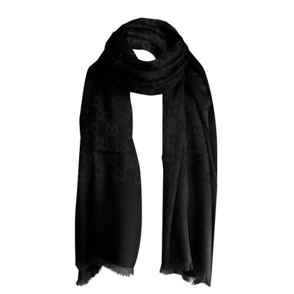 Gucci Scarf from wool / silk
