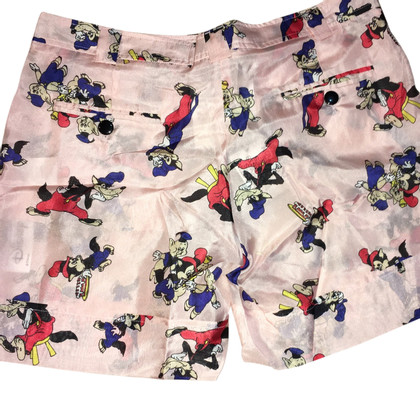 JC de Castelbajac Silk shorts