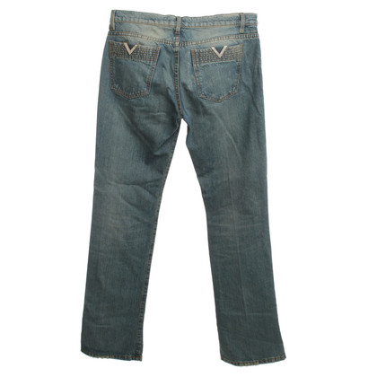 Red Valentino Jeans in Blauw / Beige