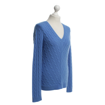 Ralph Lauren Medium blue knit sweater