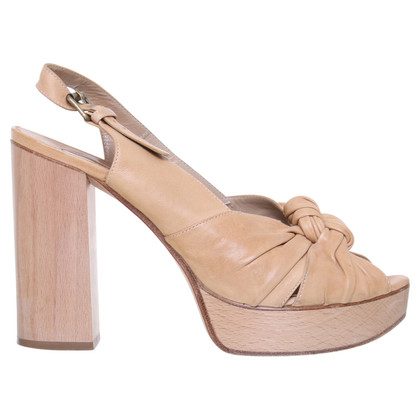 Chloé Peep-toes with wooden heel