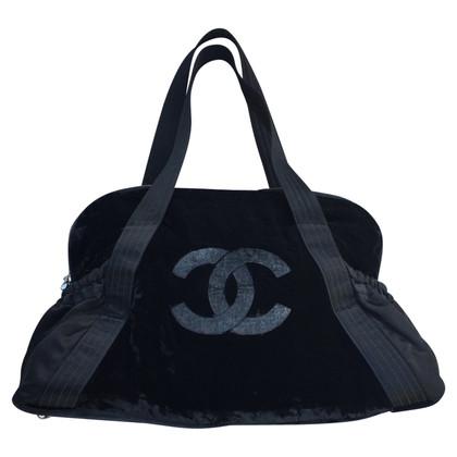Chanel Tasche aus Samt und Seide