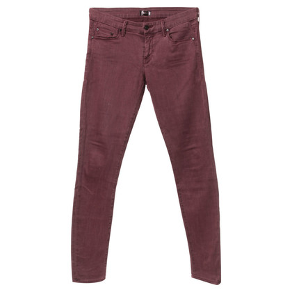 Mother Jeans in rosso