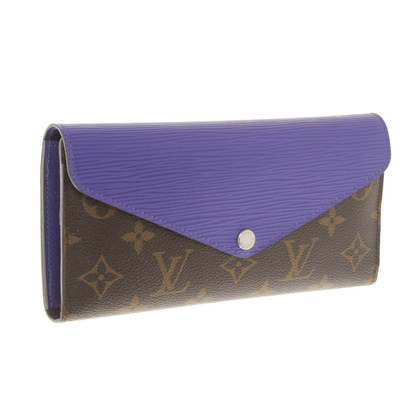 Louis Vuitton Wallet made of canvas & Epi Leather
