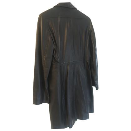 Marc Cain leather coat