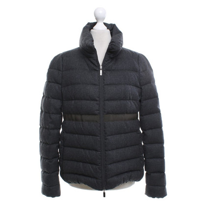 Moncler Steppjacke in Anthrazit