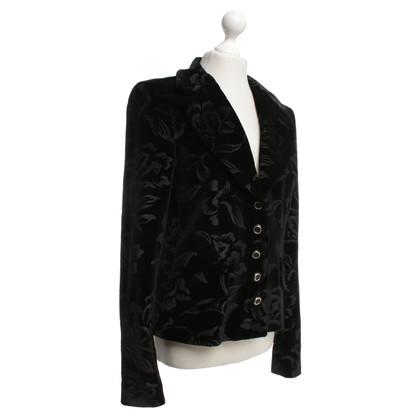 D&G giacca di velluto con il modello