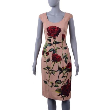 Dolce & Gabbana Dress with rose print