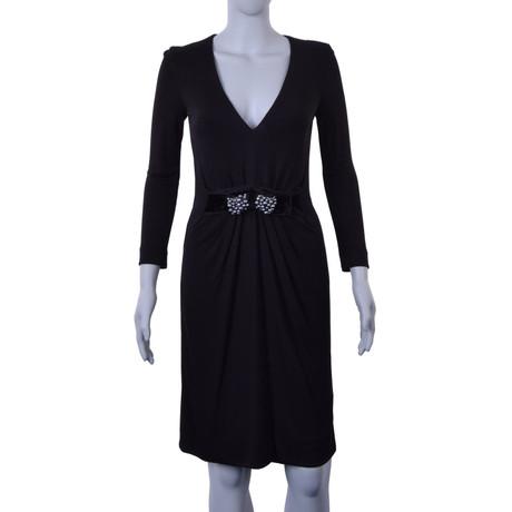 Schwarz amp; Schwarz amp; Gabbana Gabbana Dolce Kleid Kleid Dolce x7Rq5zwE
