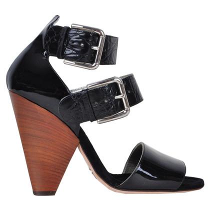 Dolce & Gabbana Sandali realizzati con pelle di coccodrillo