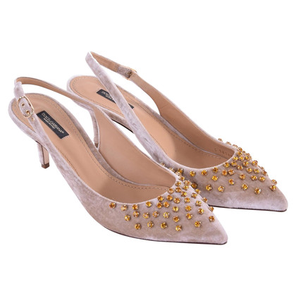 Dolce & Gabbana Slingbacks BELLUCCI with crystals