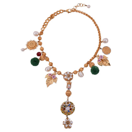 Dolce & Gabbana Sicilia necklace with crystals
