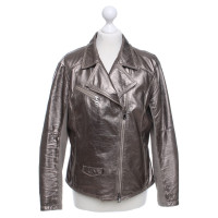 Iris von Arnim Jacket in metallic-look