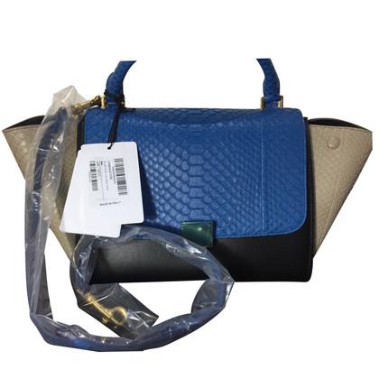 """Céline """"Trapeze Bag"""" Python Leather"""