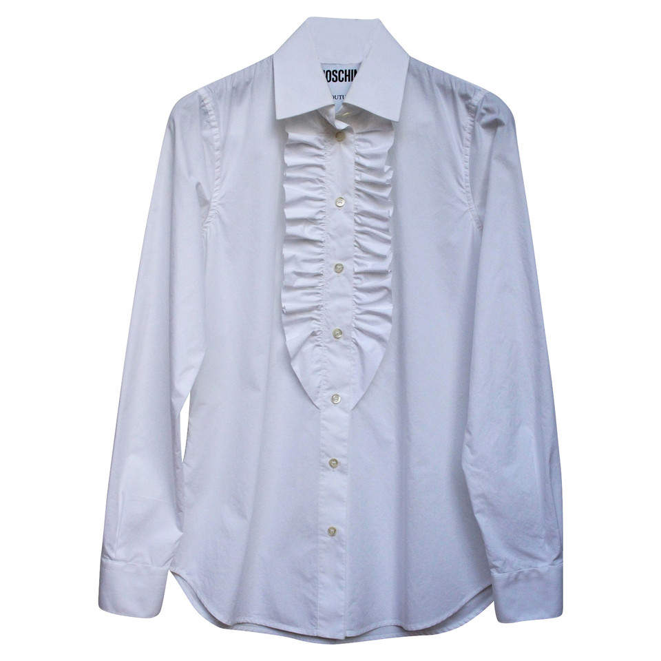Moschino Blouse with ruffles
