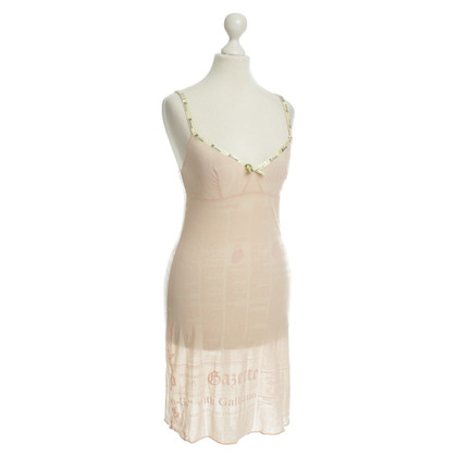 John Galliano Negligee in nude