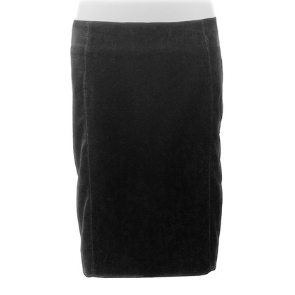 Pinko Black velvet skirt