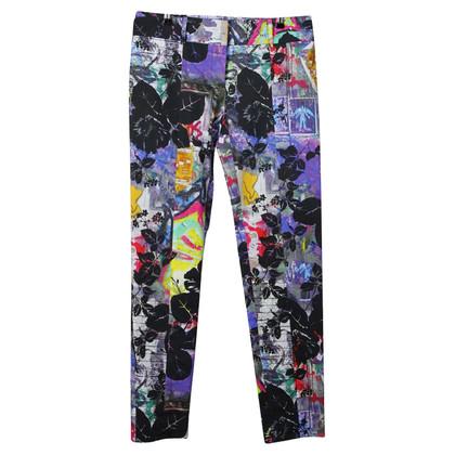 Patrizia Pepe Pantaloni stampati in multicolor