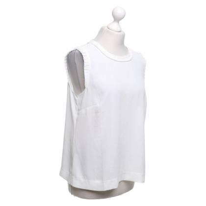 J. Crew Camicetta camicia in crema
