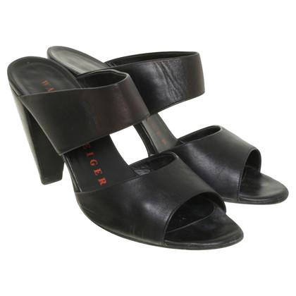 Walter Steiger Slippers in black